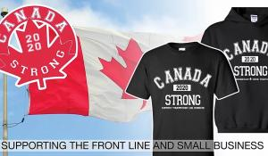 COVID-19: London clothier's Canada Strong benefit brainwave seems to suit Canadians