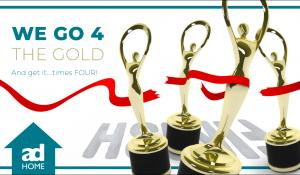 adHOME Brings Home Gold & Silver At The Communicator Awards