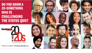 Business London's 20 in their 20's Nomination is Now Open