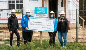 Northern Commits $150,000 to Habitat for Humanity