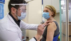 Two City Pharmacies Begin Vaccinating 55+, Mass Sites Target 65+